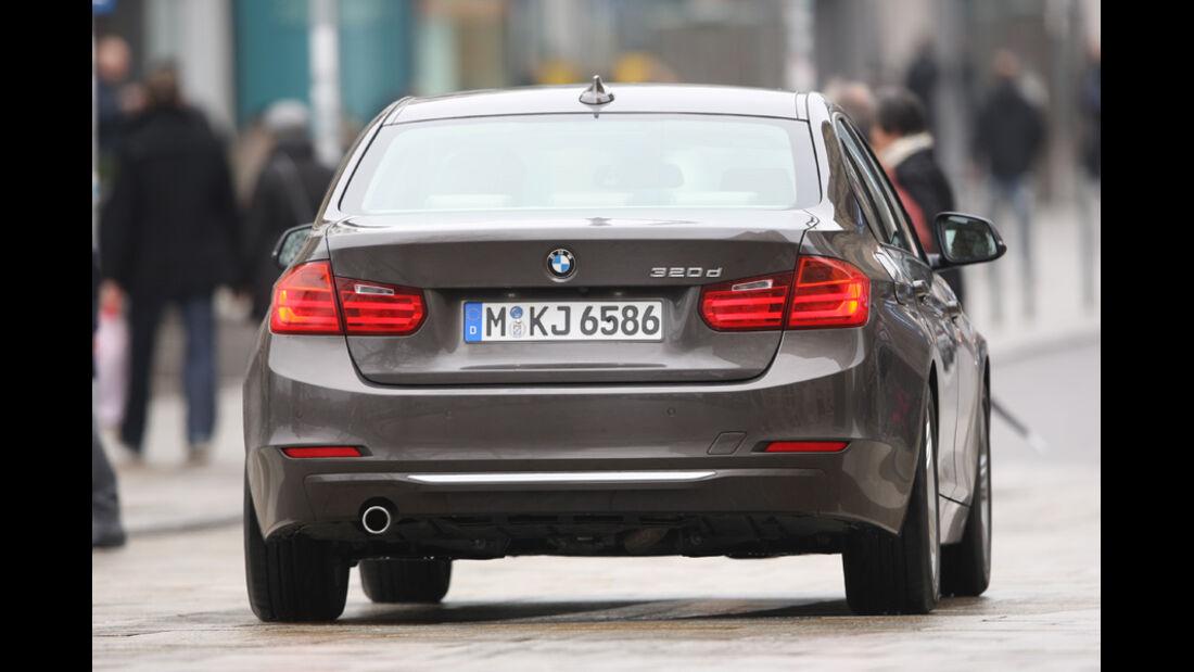 BMW 320d Modern Line, Heck