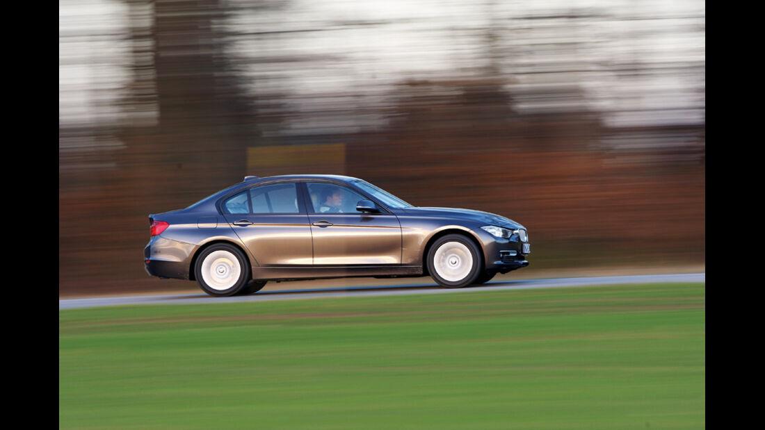 BMW 320d Modern Line, Seitenansicht