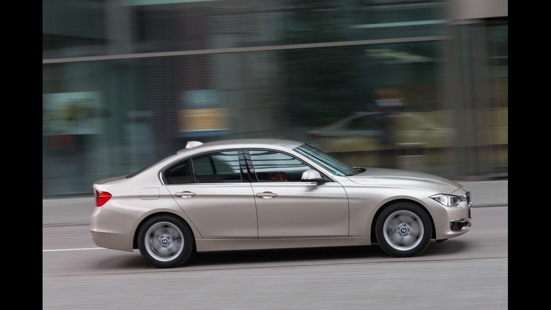 BMW 320d, Seitenansicht