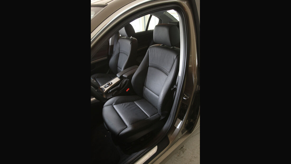 BMW 320d, Sitze