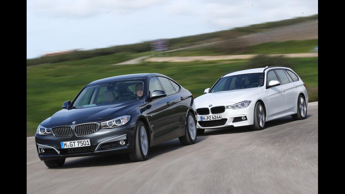 BMW 320d Touring, BMW 320d GT, Frontansicht