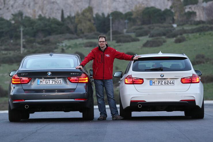 bmw 320d gt gegen 320d touring: sticht der gt den kombi aus? - auto