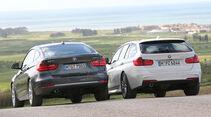 BMW 320d Touring, BMW 320d GT, Heckansicht