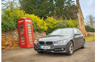 BMW 320d Touring, England