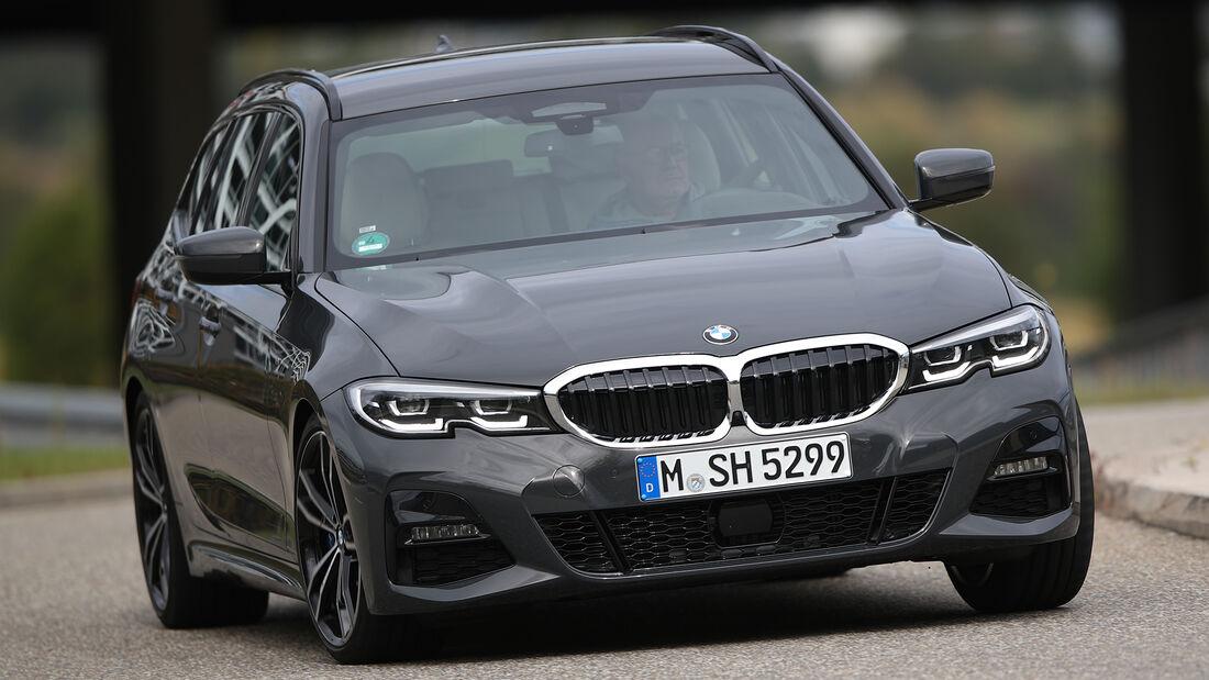 BMW 320d Touring, Exterieur