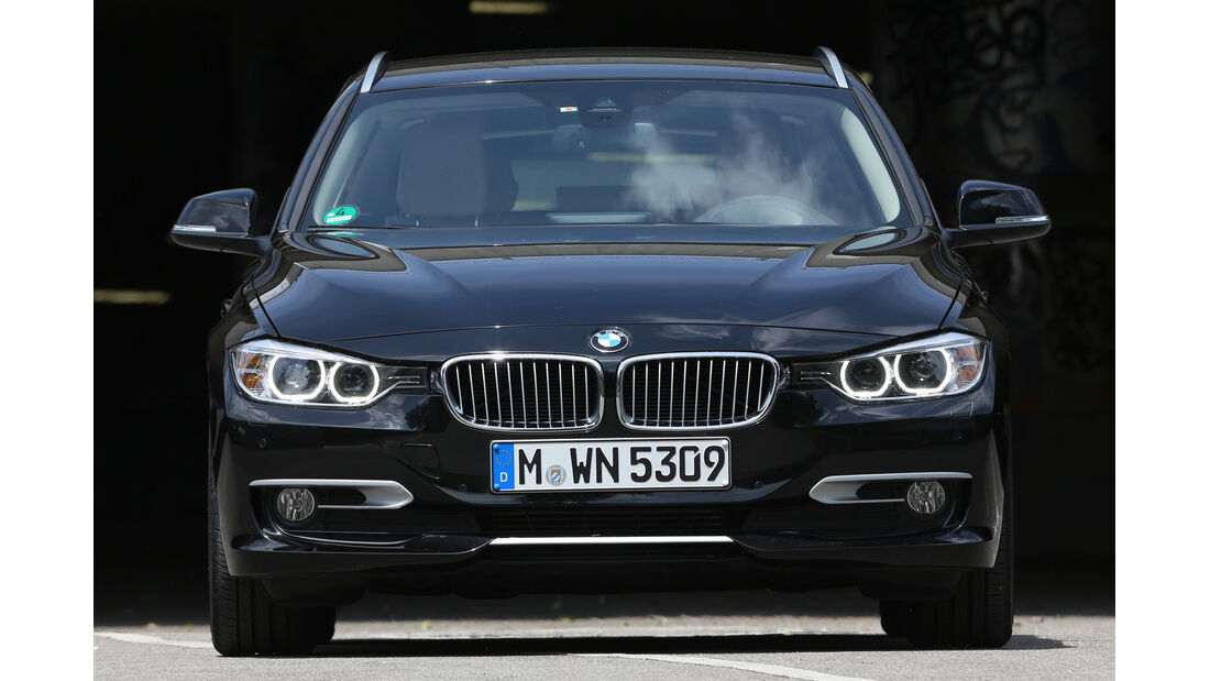 BMW 320d Touring, Frontansicht