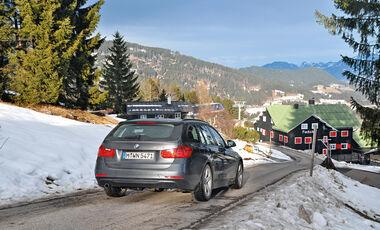BMW 320d Touring, Heckansicht