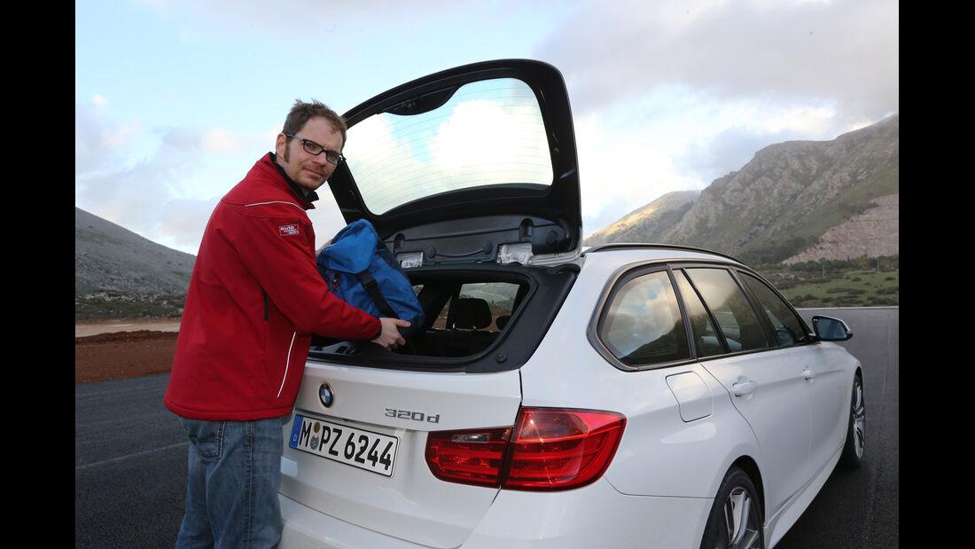 BMW 320d Touring, Heckklappe, Sebastian renz
