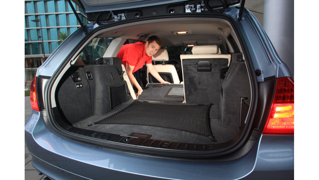 BMW 320d Touring, Kofferraum