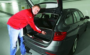 BMW 320d Touring Kofferraum