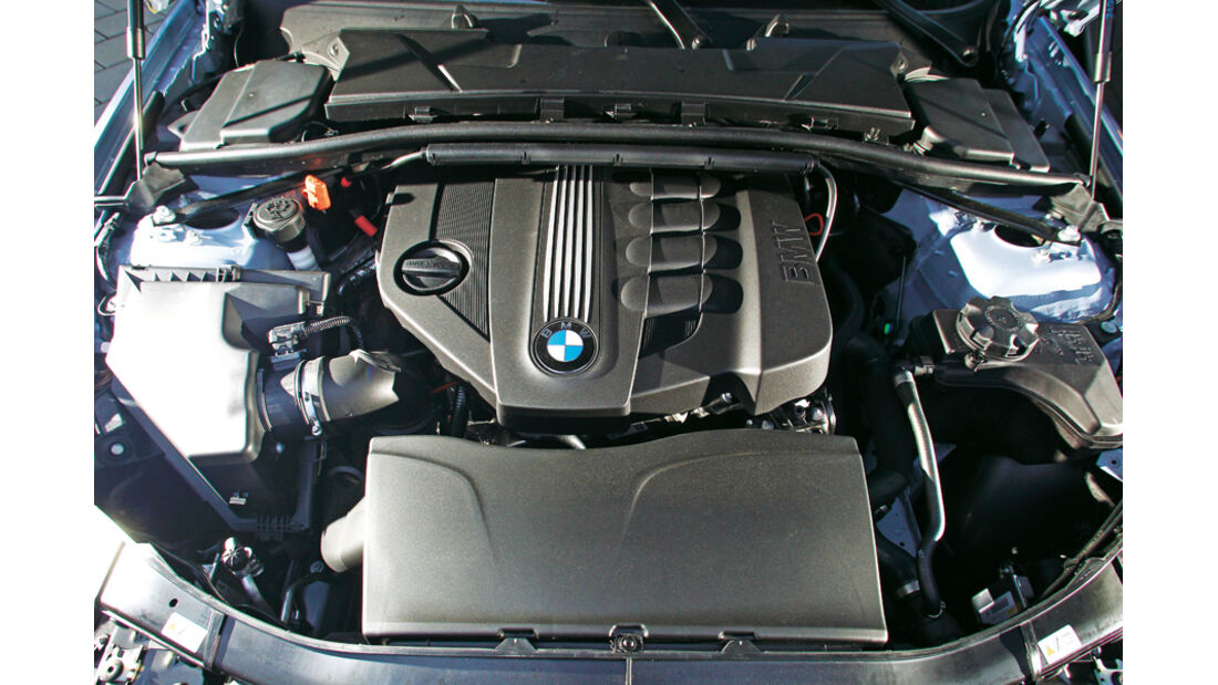BMW 320d Touring, Motor