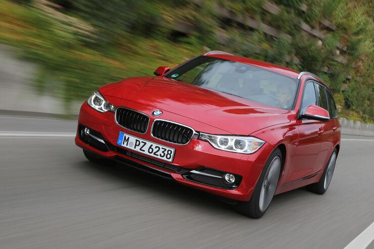 BMW 320d Touring Sport Line, Frontansicht