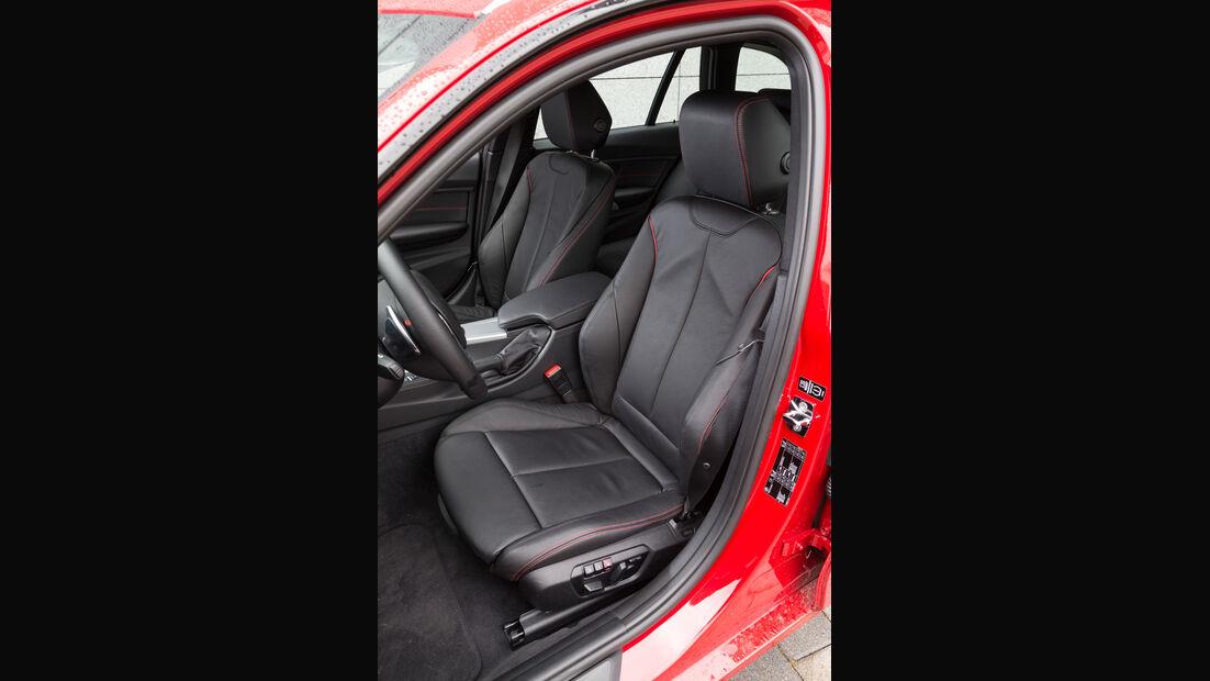 BMW 320d Touring Sportline, Fahrersitz