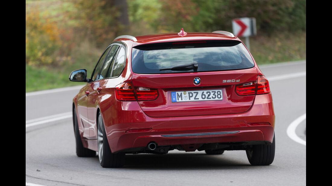 BMW 320d Touring Sportline, Heckansicht