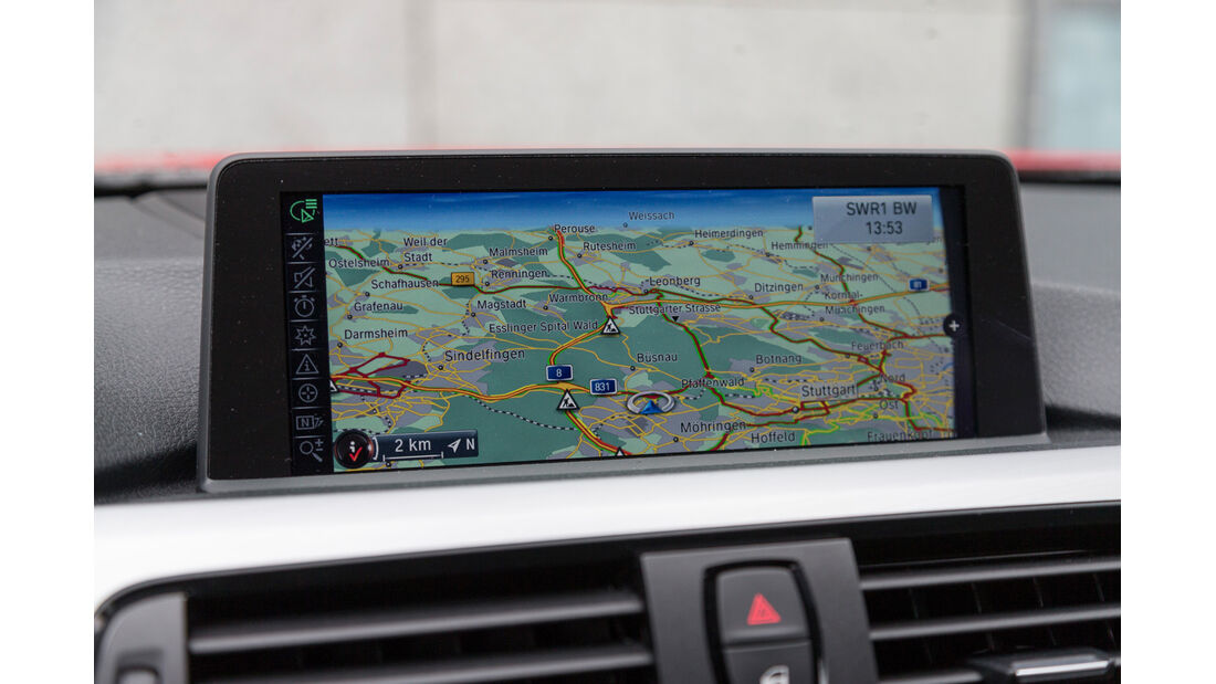 BMW 320d Touring Sportline, Navi