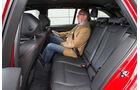 BMW 320d Touring Sportline, Rückbank, Beinfreiheit