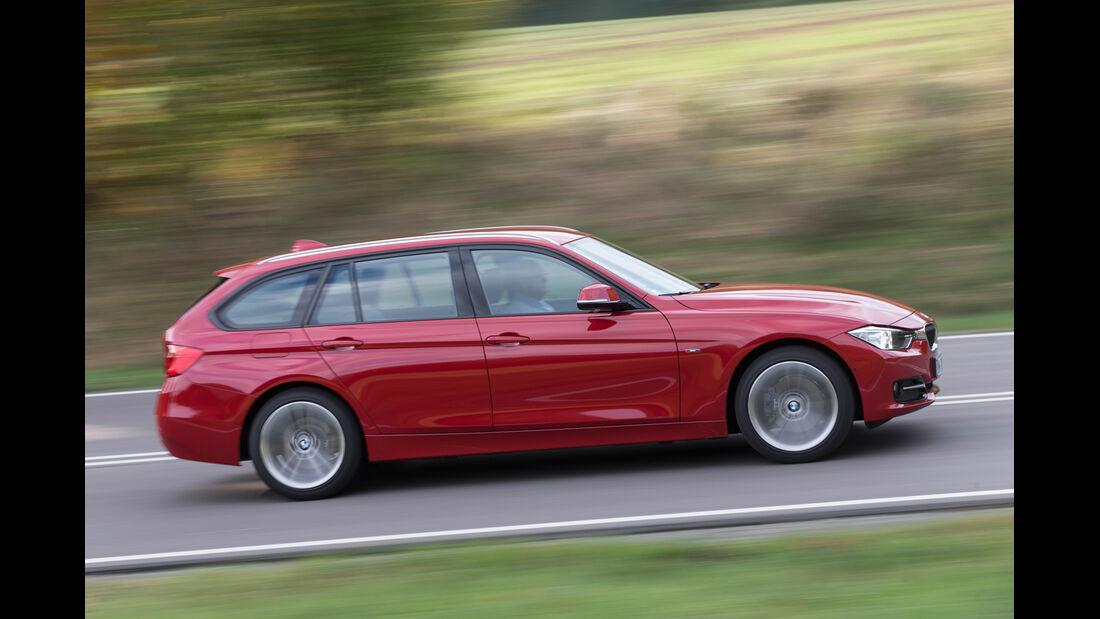 BMW 320d Touring Sportline, Seitenansicht