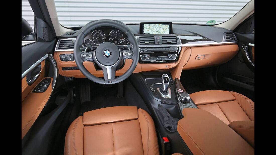 BMW 320d Touring xDrive, Cockpit