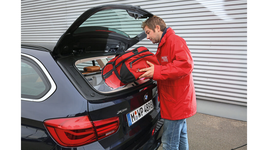 BMW 320d Touring xDrive, Heckklappe