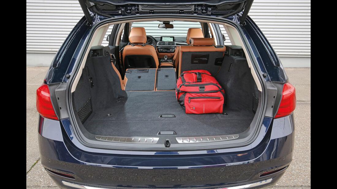 BMW 320d Touring xDrive, Kofferraum
