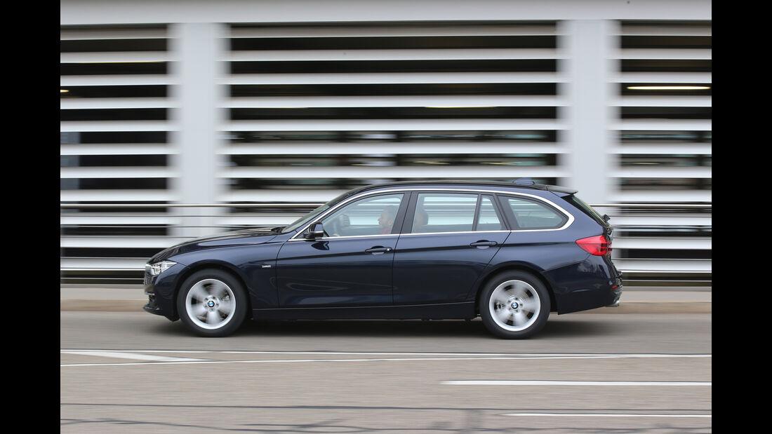 BMW 320d Touring xDrive, Seitenansicht