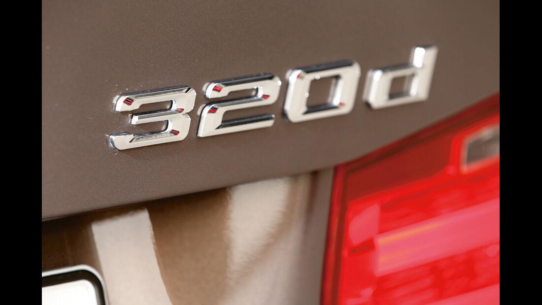 BMW 320d, Typenbezeichnung