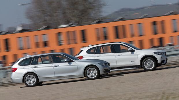 BMW 320d xDrive Touring, BMW X1 xDrive 20d