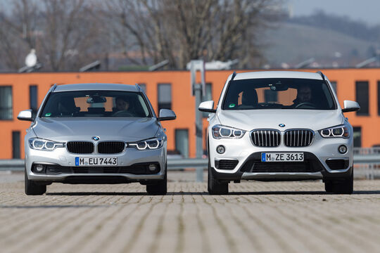 BMW 320d xDrive Touring, BMW X1 xDrive 20d