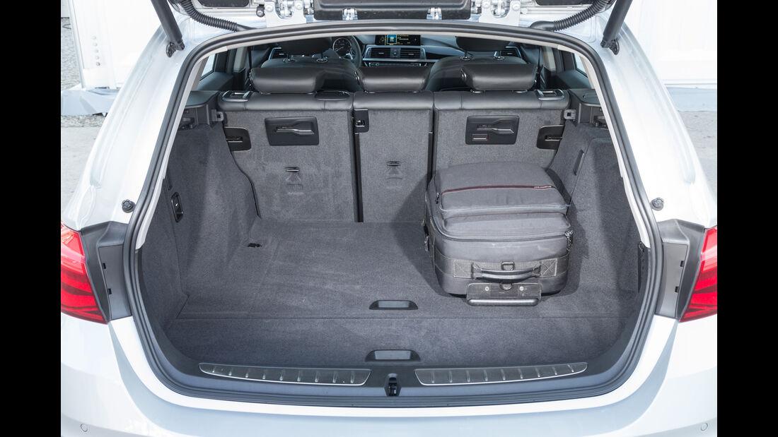 BMW 320d xDrive Touring, Kofferraum