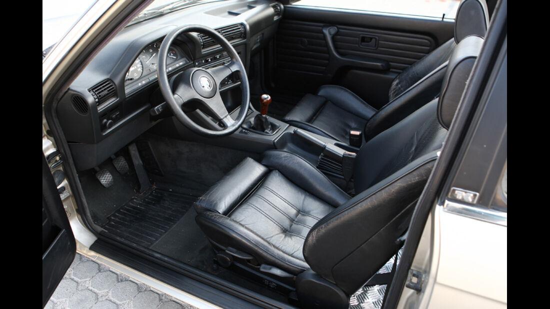 BMW 320i Baur Topcabriolet (TC2), Baujahr 1986, Innenraum