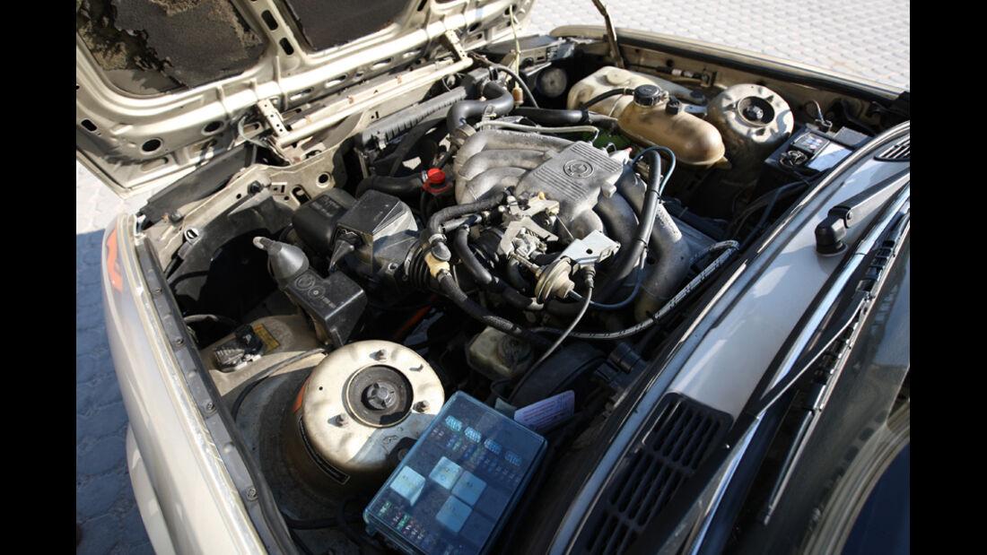BMW 320i Baur Topcabriolet (TC2), Baujahr 1986, Motor