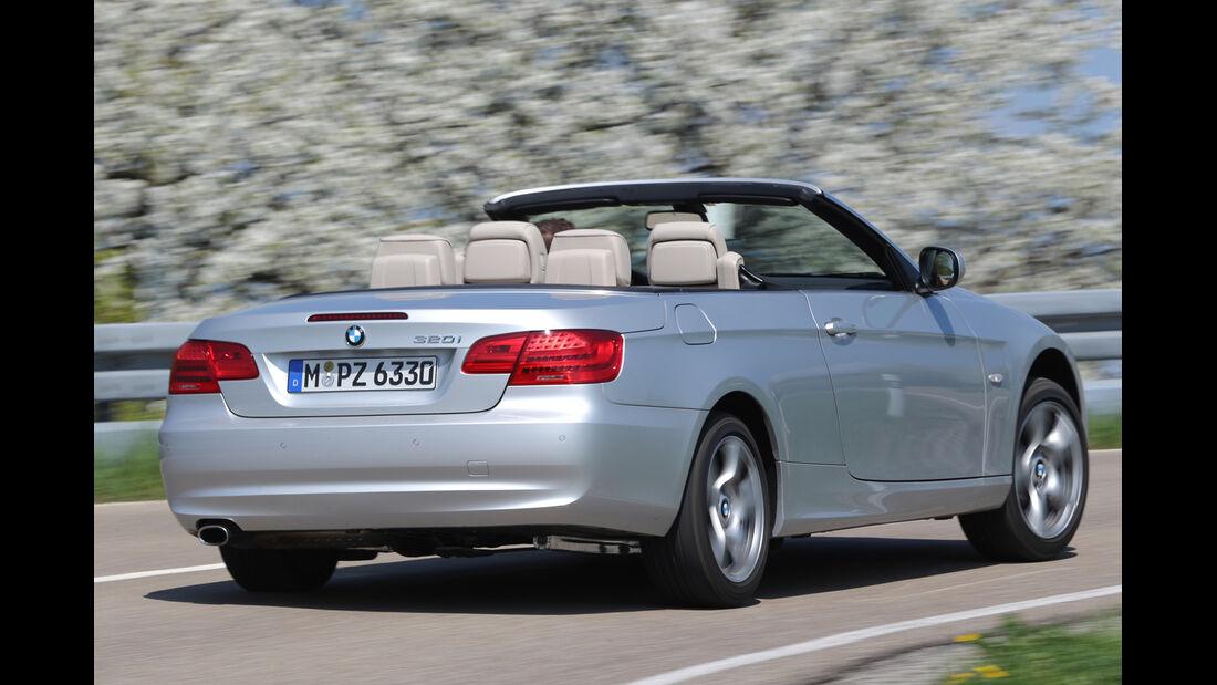 BMW 320i Cabrio, Heckansicht