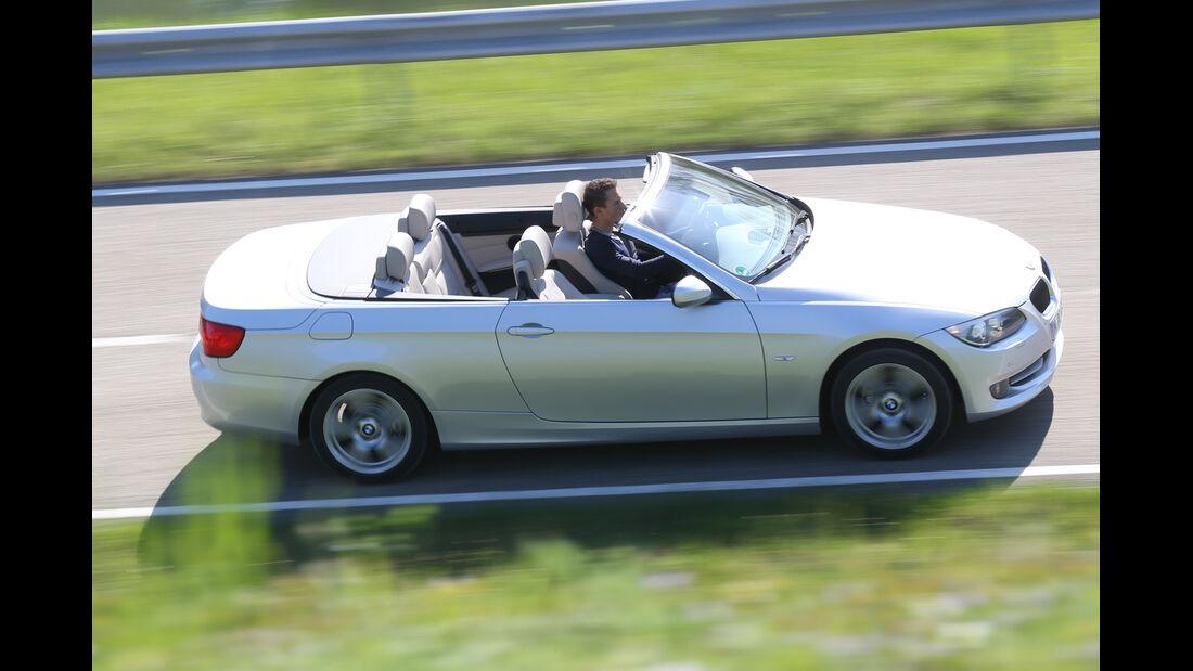 BMW 320i Cabrio, Seitenansicht