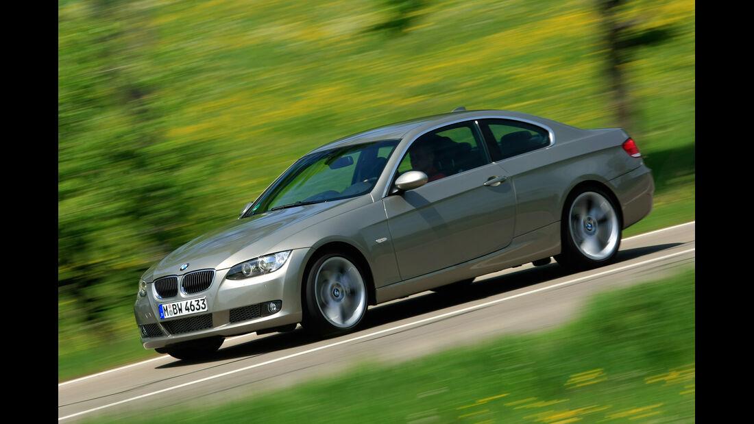 BMW 320i Coupé, Seitenansicht