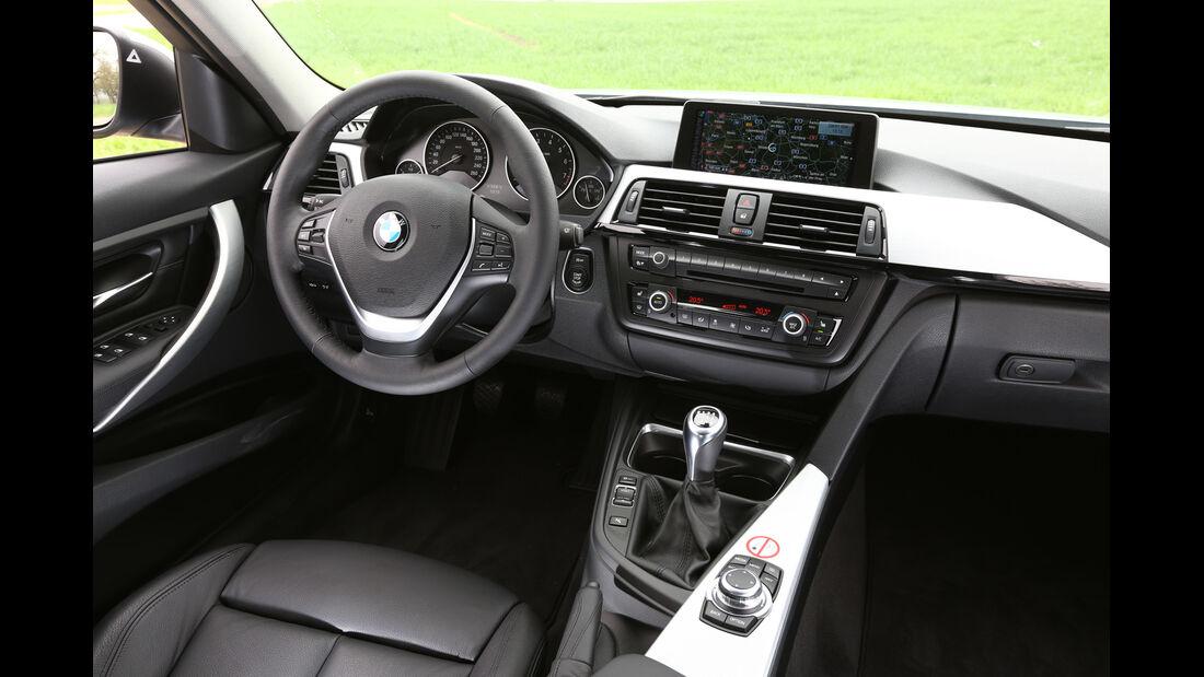 BMW 320i EDE, Cockpit, Lenkrad