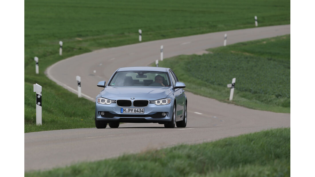 BMW 320i EDE, Frontansicht