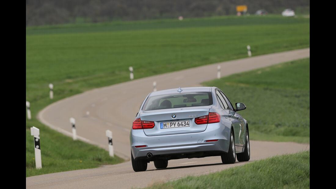 BMW 320i EDE, Heckansicht