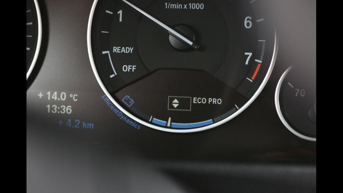 BMW 320i EDE, Rundinstrument, Eco Pro