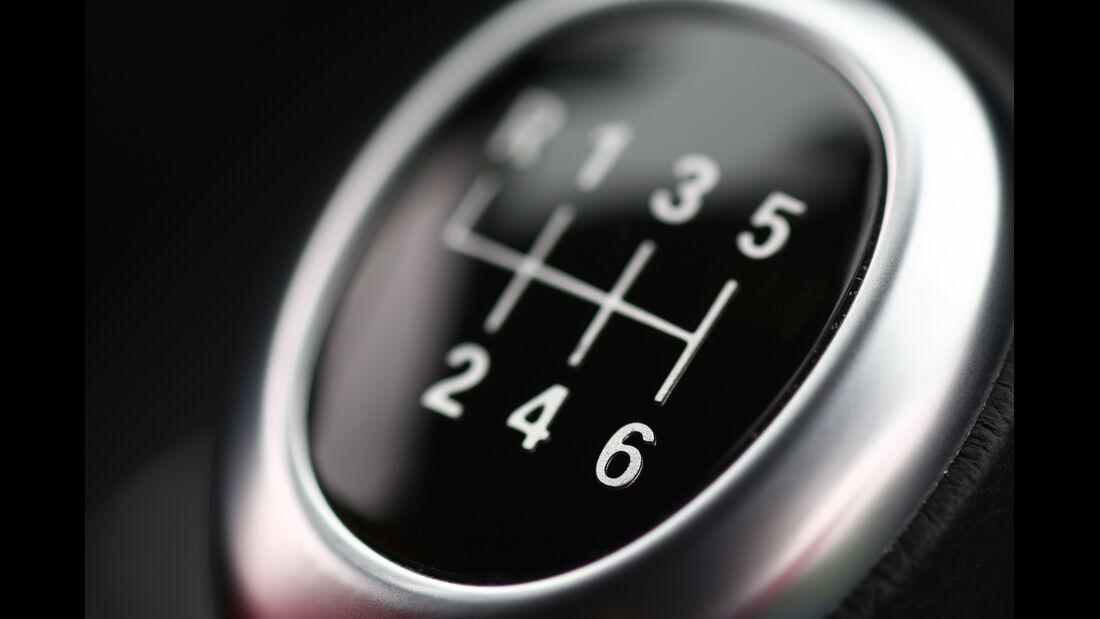 BMW 320i EDE, Schalthebel, Detail