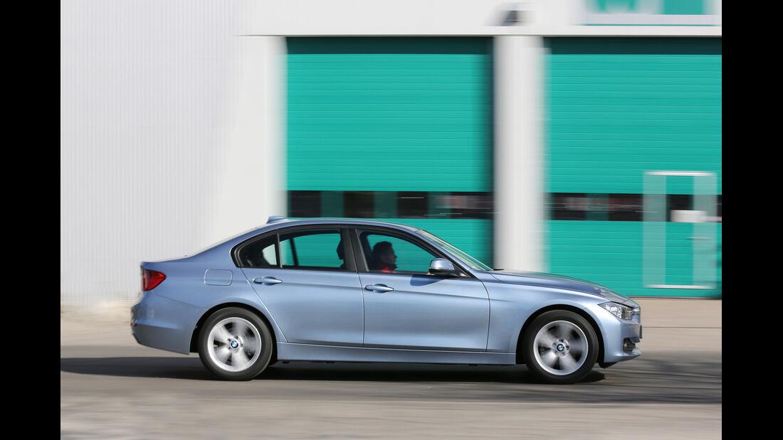 BMW 320i Efficient Dynamics Edition, Seitenansicht