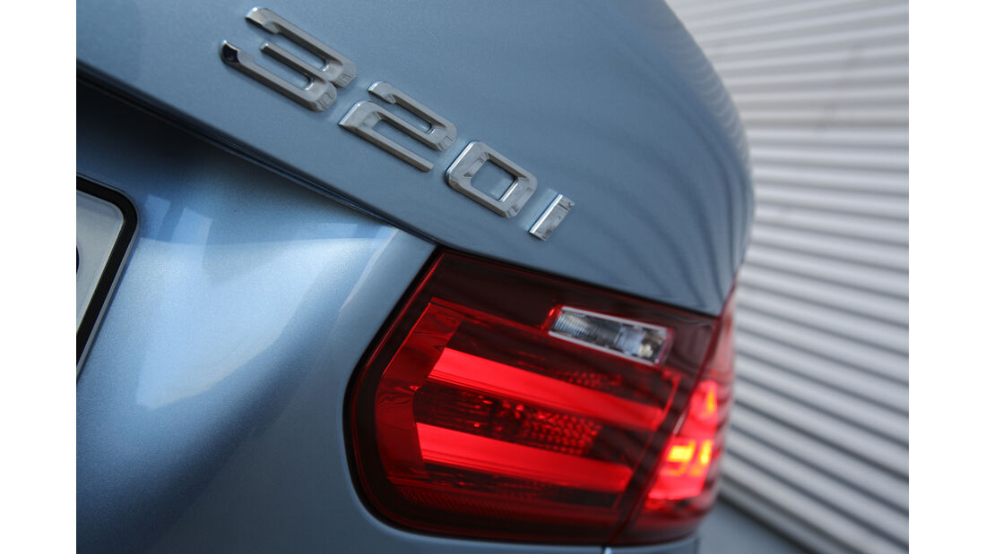 BMW 320i Efficient Dynamics Edition, Typenbezeichnung