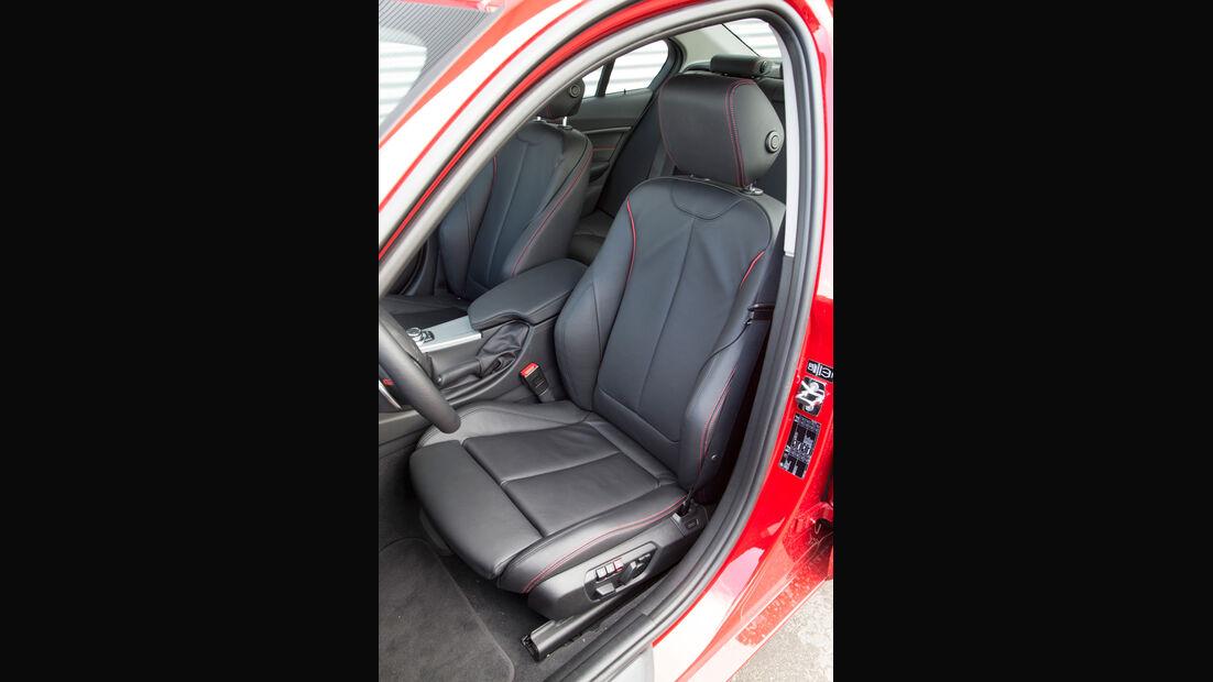 BMW 320i, Fahrersitz