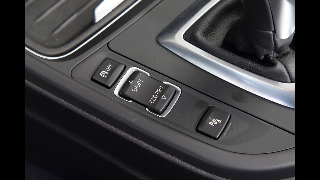 BMW 320i, Fahrwerkeinstellung