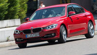 BMW 320i, Frontansicht