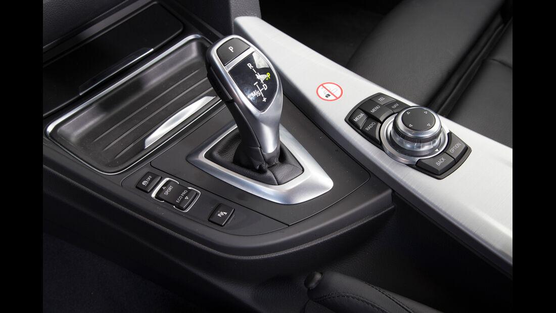 BMW 320i, Schalthebel, Schaltknauf