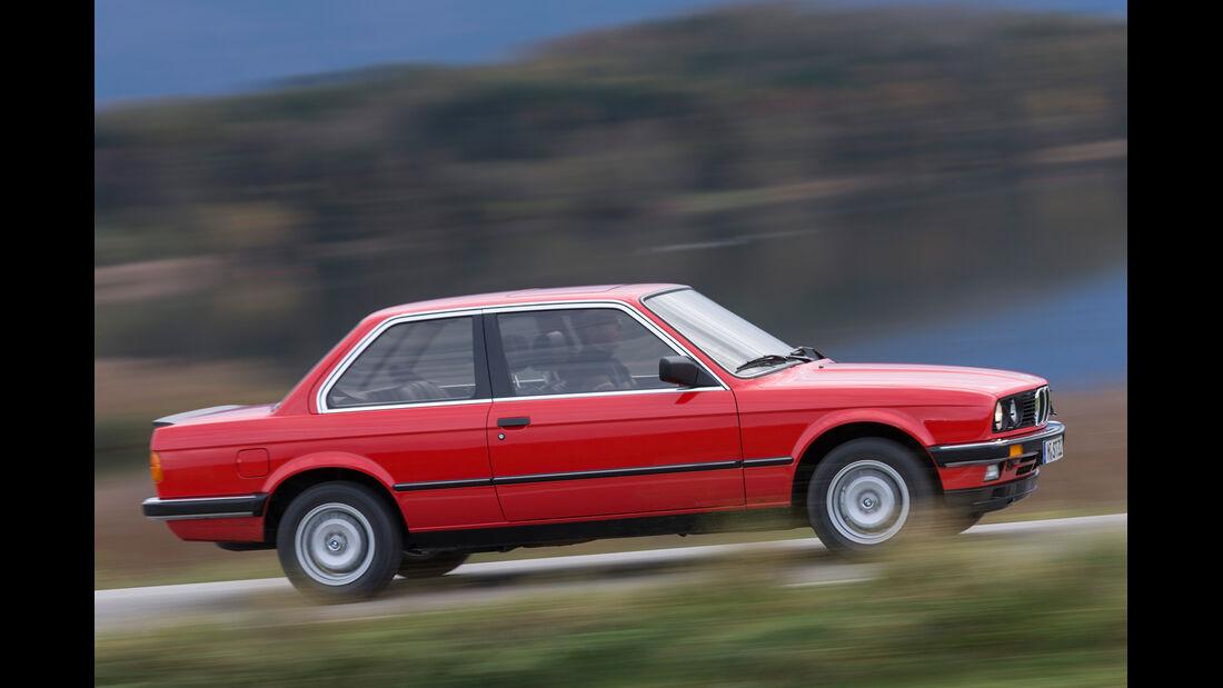 BMW 320i, Seitenansicht