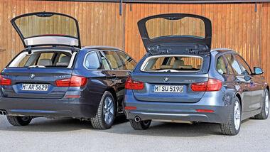 BMW 320i Touring, BMW 520i Touring, Heckklappe