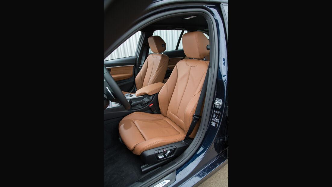 BMW 320i Touring, Fahrersitz