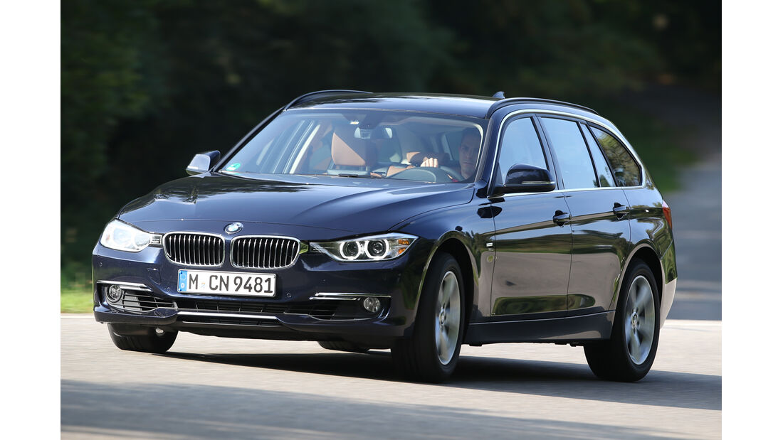 BMW 320i Touring, Frontansicht