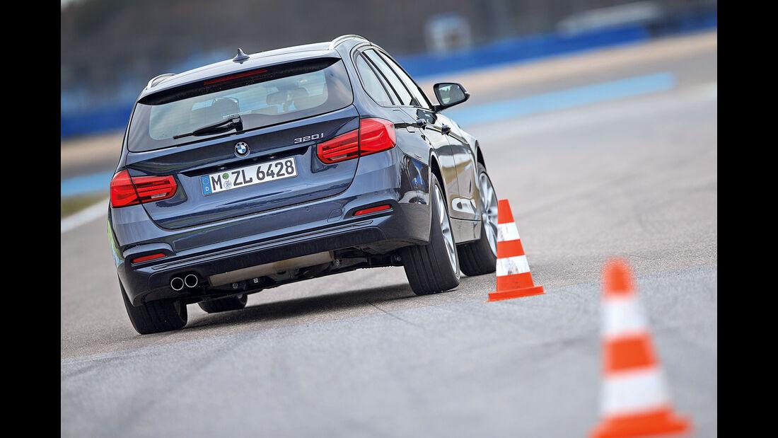 BMW 320i Touring, Heckansicht